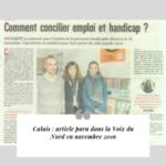 Cap Interim France revue de presse Calais