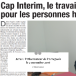 Cap Interim France revue de presse Observateur