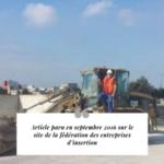Cap Interim France revue de presse fédération des entreprises d'insertion